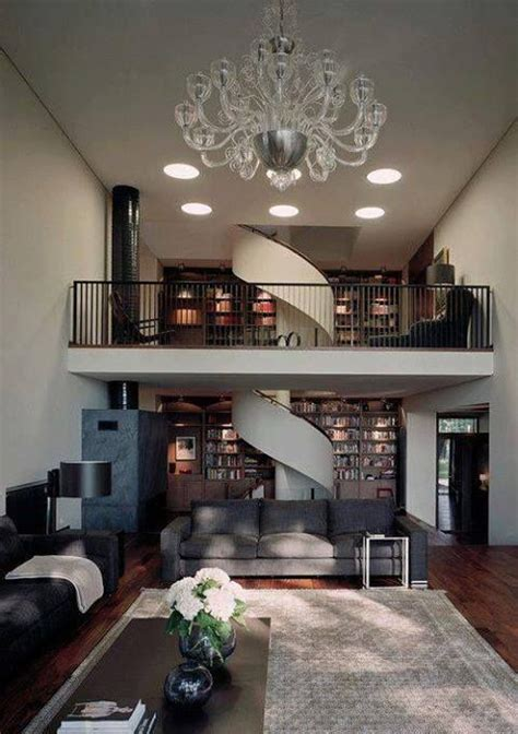 Living Room Stairs Ideas by Living Room With Spiral Staircase For House Tho