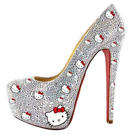 hello kitty high heels glamoursister com