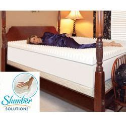 Slumber Solutions Highloft Supreme 4 Inch Memory Foam Mattress Topper by Solutions Highloft Supreme 2 Inch Memory Foam Mattress Topper Memory Bed Mattress Sale