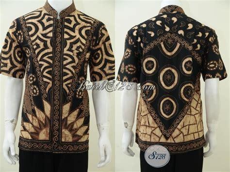 Baju Koko Batik baju koko batik pria elegan eksklusif batik tulis dengan pewarna soga ld2384tsk xl toko