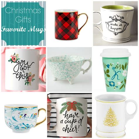 christmas gift ideas the perfect mug cup of tea