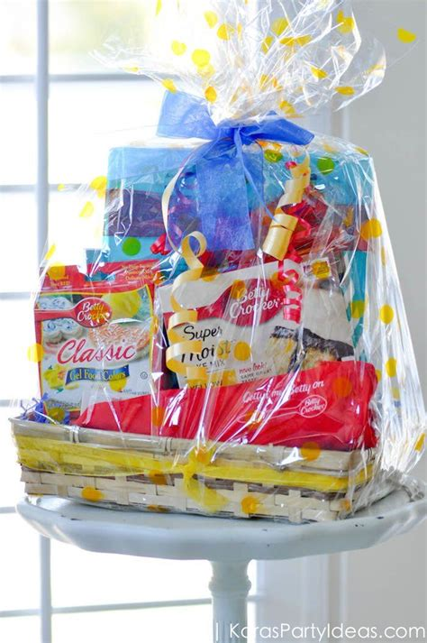 Party Giveaway Ideas - kara s party ideas giveaway betty crocker circus birthday party basket kara s