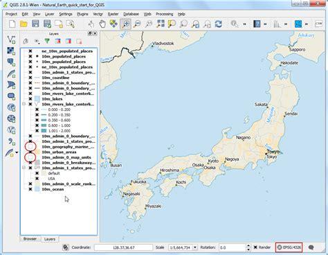qgis tutorial japan making a map qgis tutorials and tips