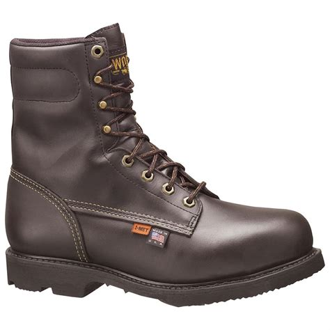 thorogood boots s thorogood 174 i met boots brown 189592 work boots