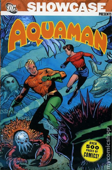 16 and with volume 1 books showcase presents aquaman tpb 2007 2009 dc comic books