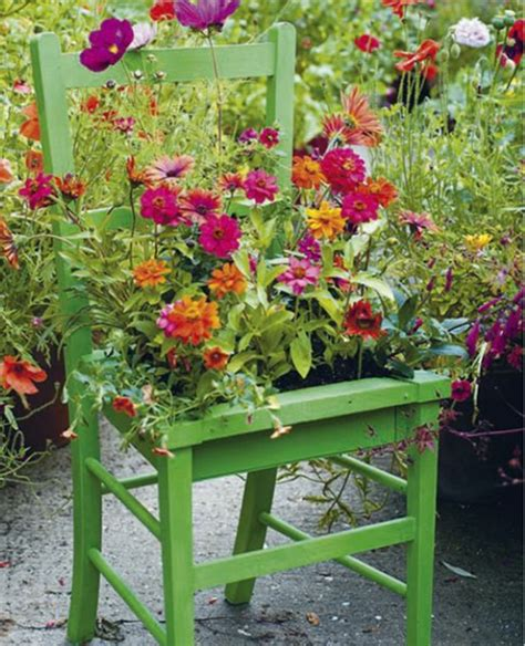 Deko Stuhl Garten by Kreative Ideen F 252 R Blument 246 Pfe In Ihrem Garten Archzine Net