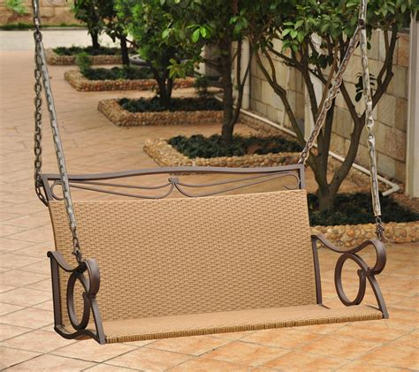 swinging love seat love seat swing in swings