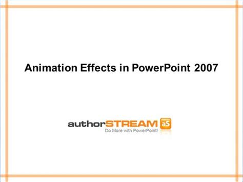more animations for powerpoint 2007 transitions animations