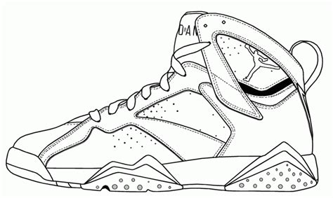 free coloring pages jordan shoes jordan shoes coloring pages coloring home