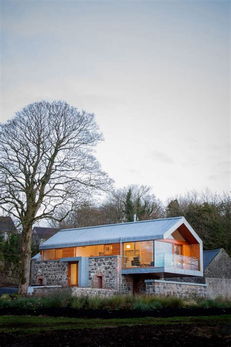 modern barn house stone barn transformed into a picturesque modern cozy home