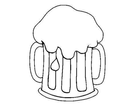 dibujos de bebidas para colorear dibujo de cerveza fr 237 a para colorear dibujos net
