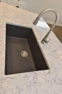blanco silgranite kitchen sink in cidner with kohler