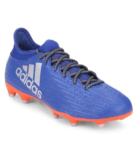 shoes football adidas adidas x 16 3 fg blue football shoes buy adidas x 16 3