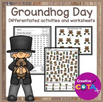 groundhog day used to something groundhog day differentiated activities and worksheets