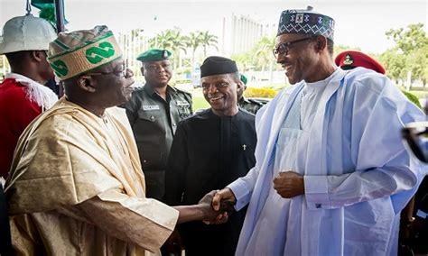 biography muhammadu buhari tinubu chose osinbajo for buhari says ex general