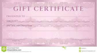 cheque voucher template gift certificate voucher coupon template stock photos