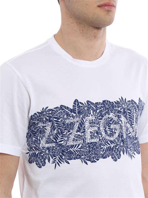 z zegna printed cotton t shirt t shirts vm372 zz630s 6s1 ikrix