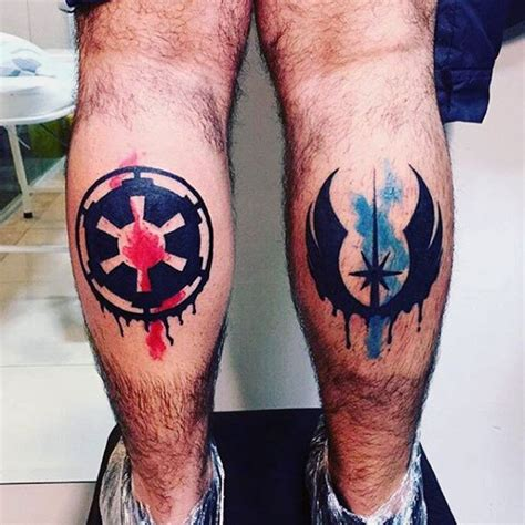 star wars symbols tattoos 100 wars tattoos for masculine ink design ideas