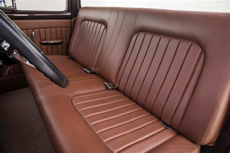 ford bench seat this root beer brown 1956 f 100 is a righteous ride hot