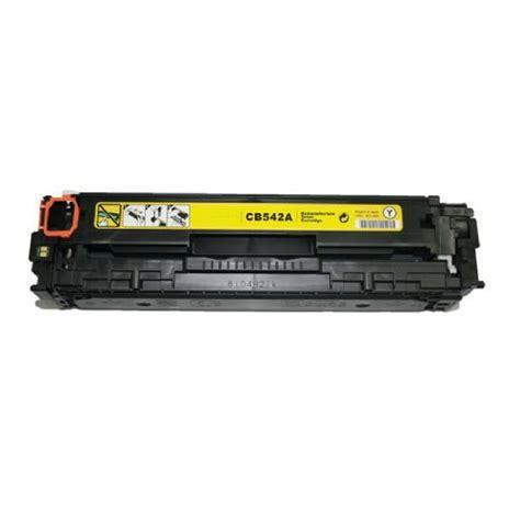 Catridge Compatible Hpcp1215 Yellow Cb 542 compatible hp cb542a yellow toner cartridge hp cb542a