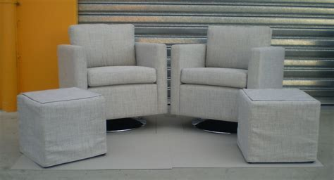 swivel chair and ottoman slipcover the andy swivel chair and 2 ottoman covers jaro