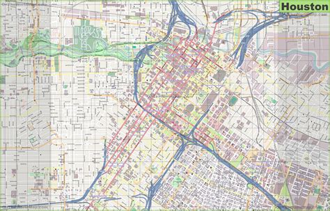 houston map in usa map of houston indiana map