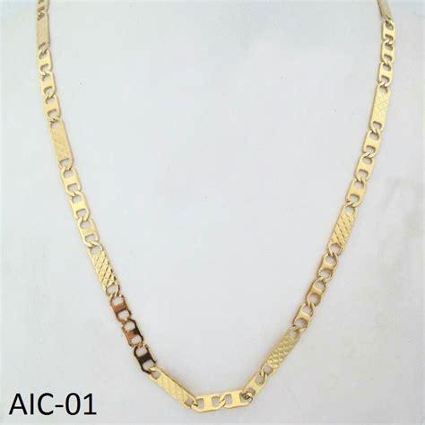 cadenas de acero inoxidable cadena acero inoxidable doradas bs 9 081 484 78 en