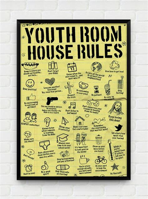 comfort room rules 17 best ideas about youth on pinterest youth ministry