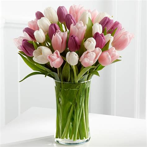 tulips arrangements spring flowers to give on graduation day huffpost