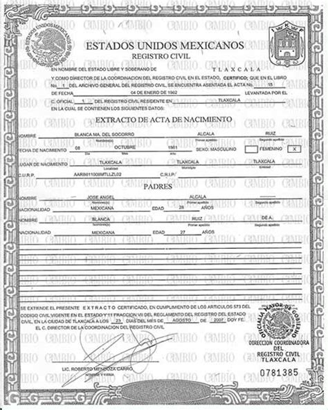 Marriage Records Mexico Services Acta America