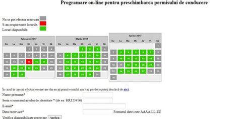 theme sahifa mi n phí programări online pentru preschimbarea permisului de