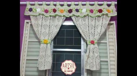 aprender  tejer cortinas  percianas tejidos  crochet   youtube