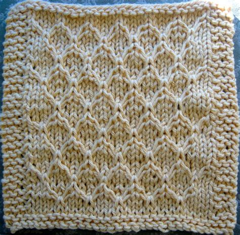 honey comb knit honeycombs dishcloth and honeycomb pattern on
