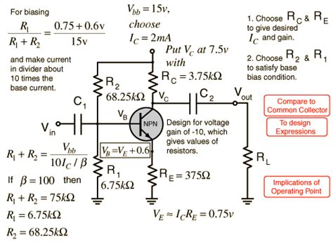 transistor lifier equations image gallery npn lifier