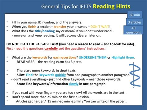 ielts reading strategies the ultimate guide with tips and tricks on how to get a target band score of 8 0 in 10 minutes a day books general tips for ielts reading