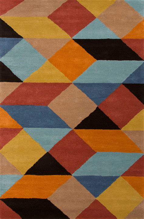 yellow pattern area rug hand tufted geometric pattern wool gray yellow area rug