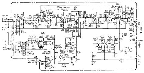boss bf 2 flanger guitar pedal schematic diagram