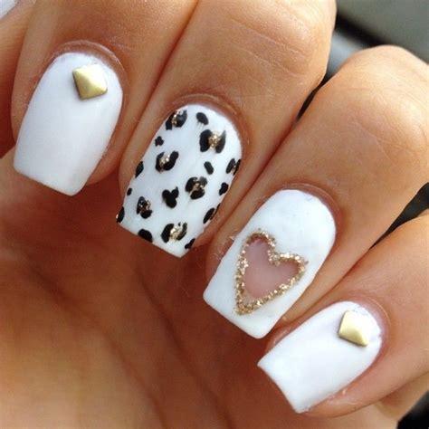 imagenes de uñas pintadas de blanco unhas decoradas com cora 231 227 o fotos passo a passo toda atual
