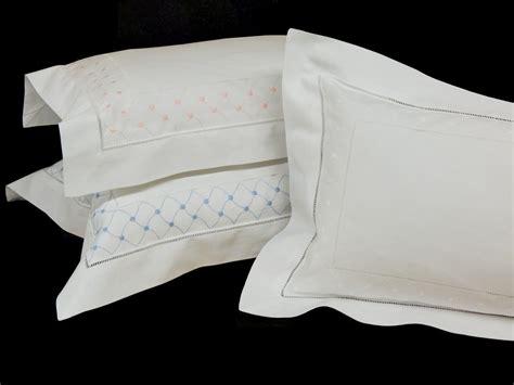 Pillow Sham Inserts by Boudoir Pillow Sham W Pillow Insert Handmade Embroidery W