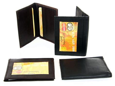 design id card holder leather credit card id holder slim design men s wallet