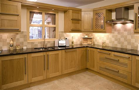 modern oak kitchen cabinets modern kitchens with oak cabinets images