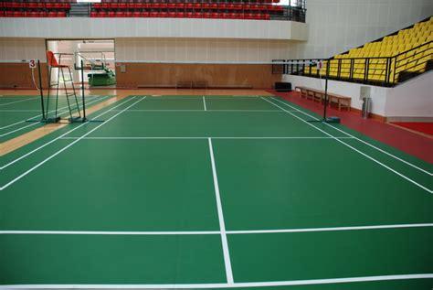 Karpet Untuk Lapangan Bulu Tangkis gambar dan ukuran lapangan badminton standar internasional