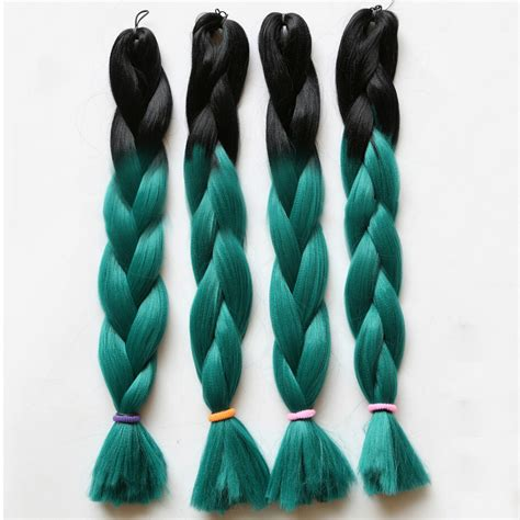 ombre synthetic braiding hair ombre kanekalon braiding hair jumbo braid 100 synthetic