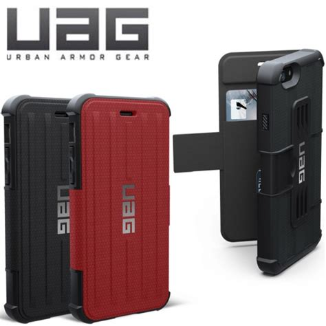 Uag Iphone 6 6g 6s Armor Gear Cover Bumper Hardcase Black iphone 6 6 plus of the week uag s folio iphonelife