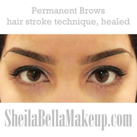 tattoo eyebrows techniques image result for ombre brow with hairstroke bday