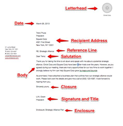 Business Letter Format In Html Sle Business Letter Sle Business Letter