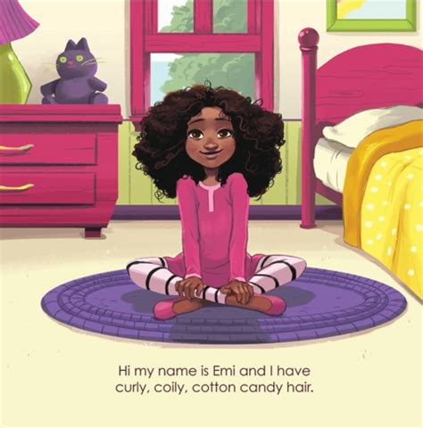 the curly hair club books children s book emi s curly coily cotton hair