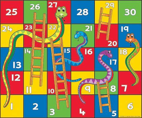 snakes and ladders template pdf السلم و الثعبان طموحي