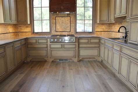 Wood Floor In Kitchen Simas Floor And Design Company Hardwood Flooring By Royal Oak