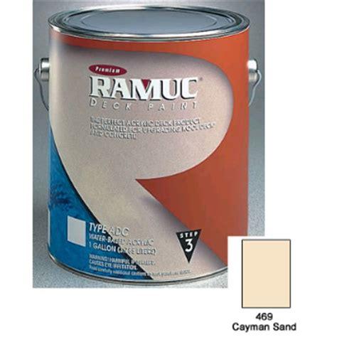 ramuc acrylic deck paint